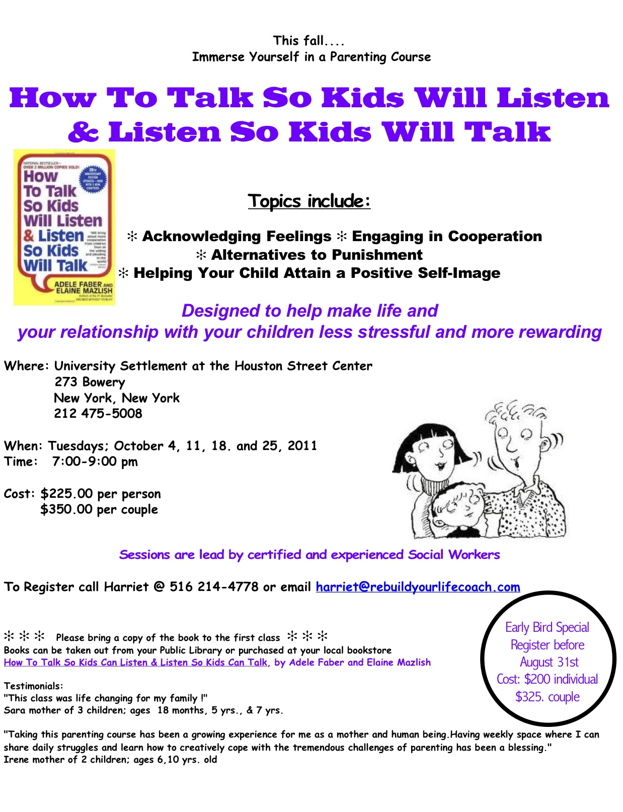 how to talk so kids will listen and listen so kids will talk by adele faber and elaine mazlish is a  How to talk so the kids will listen & listen so kids will talk adele faber elaine mazlish.